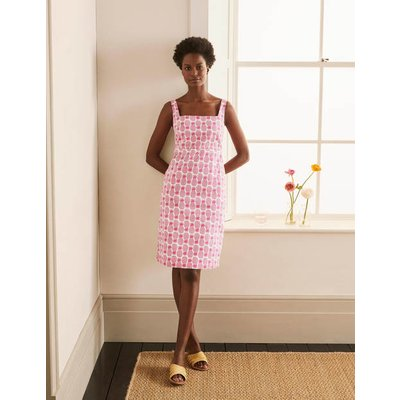 Yolande Shift Dress Party Pink, Pineapple Geo Women Boden, Party Pink, Pineapple Geo