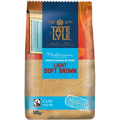 Tate & Lyle Fairtrade Light Soft Brown Sugar