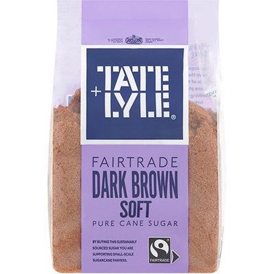 Tate & Lyle Fairtrade Dark Soft Brown Sugar