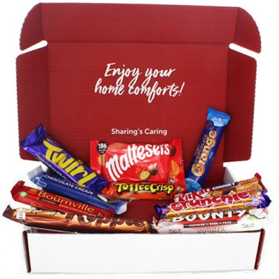 Brit Kit Letterbox - British Chocolate Essentials