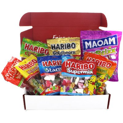 Brit Kit Letterbox - Haribo Mix