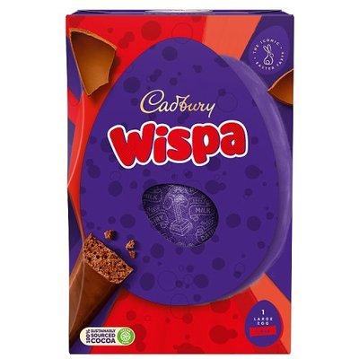 Cadbury Wispa Easter Egg Large