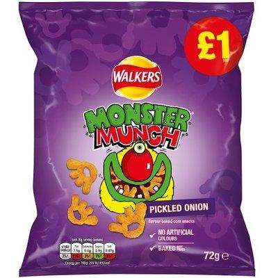 Monster Munch Pickled Onion Share Bag