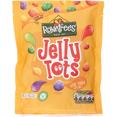 Rowntrees Jelly Tots Sharing Bag 10 x 150g