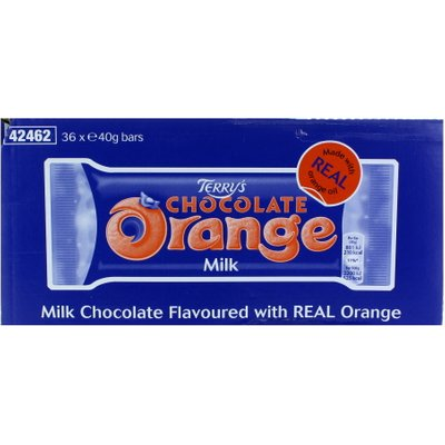 Terrys Milk Chocolate Orange Bar x 30