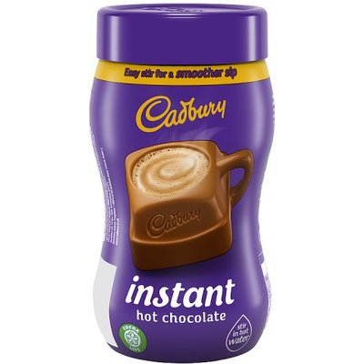 Cadbury Fairtrade Instant Hot Chocolate Add Water