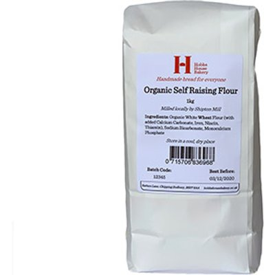 Hobbs House Bakery Organic Self Raising Flour