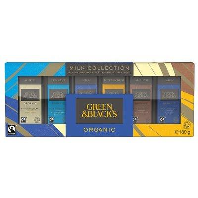 Green & Blacks Milk Collection 12 Miniature Bars