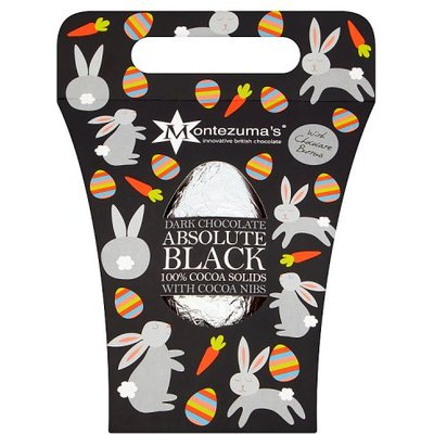 Montezumas Dark Chocolate Absolute Black Easter Egg with Buttons
