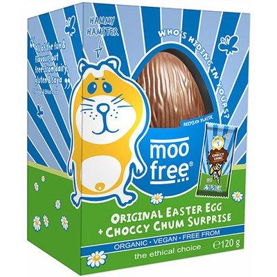 Moo Free Organic Original Easter Egg with Choccy Chum Suprise