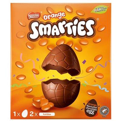 Orange Smarties Large Easter Egg