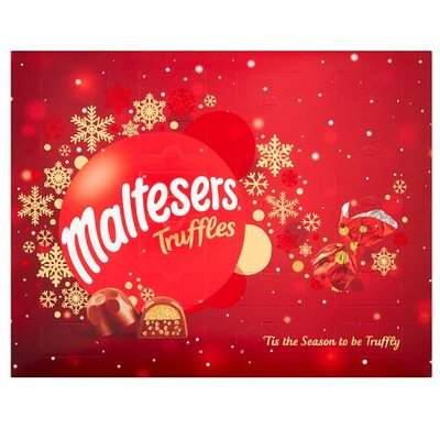 Maltesers Truffles Chocolate Christmas Advent Calendar