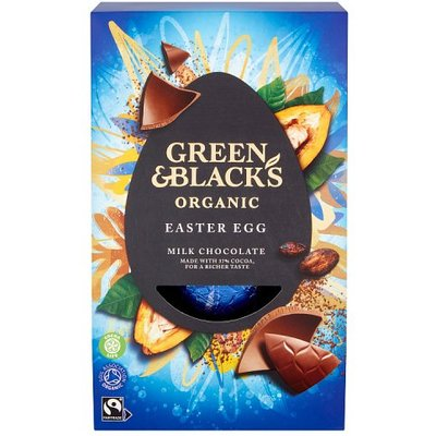 Green and Blacks Medium Milk Chocolate Egg