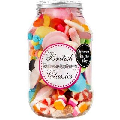 Sweets in the City British Sweetshop Classics Jar of Joy