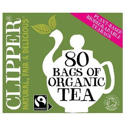 Clipper Fair Trade 80 Teabags