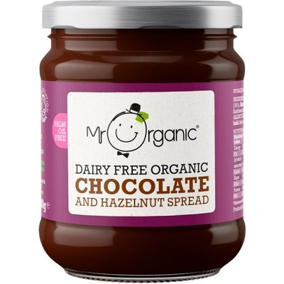 Mr Organic Dairy Free Chocolate and Hazelnut Spread