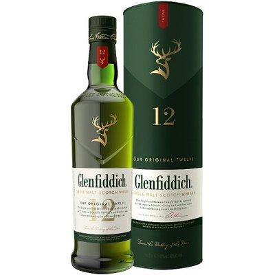 Glenfiddich Single Malt Scotch Whisky Aged 12 Years 70cl