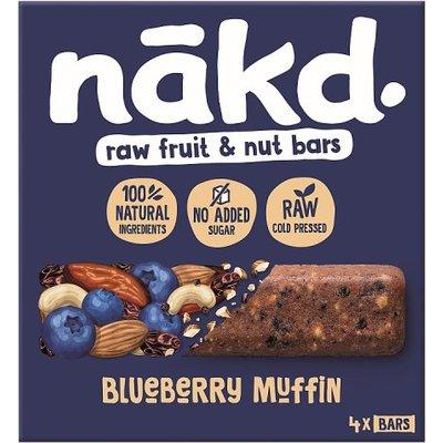 Nakd Blueberry Muffin Multipack 4 Pack
