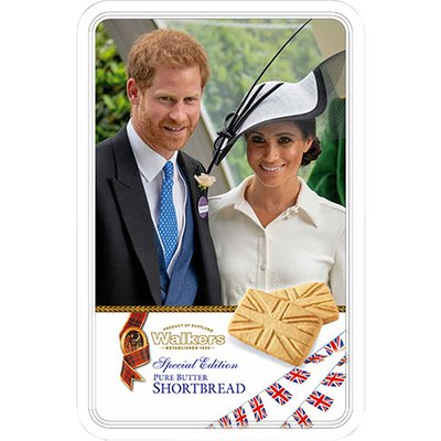Walkers Harry and Meghan Shortbread Tin