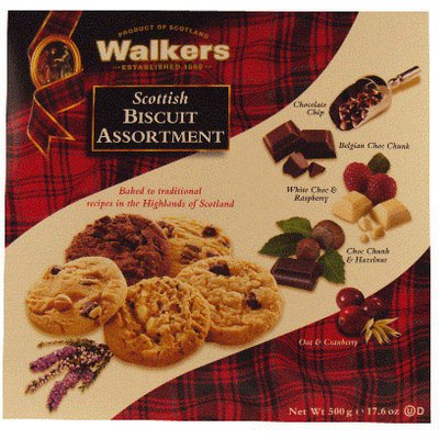 Walkers Scottish Biscuit Selection