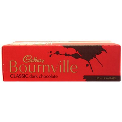 Cadbury Bournville Bar - 36 x 45g