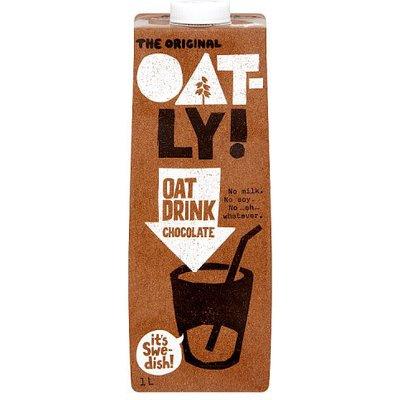Oatly Multi-Pack Healthy Oat Chocolate Drink 6 x 1ltr