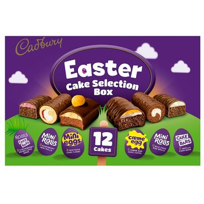 Cadbury Easter Cake Selection 12 Pack