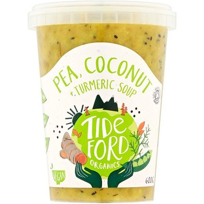 Tideford Organic Pea Coconut and Turmeric Soup