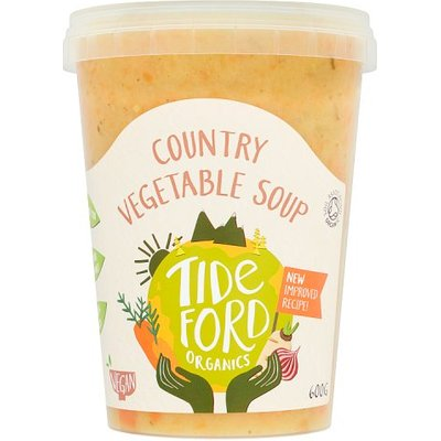 Tideford Organic Country Veg Rosemary & Thyme