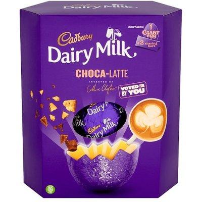 Cadbury Dairy Milk Choca-Latte Giant Easter Egg