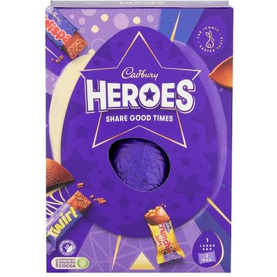 Cadbury Heroes Large Easter Egg