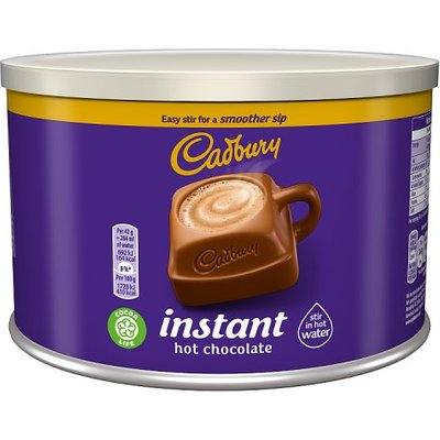 Cadburys Instant Hot Chocolate Add Water