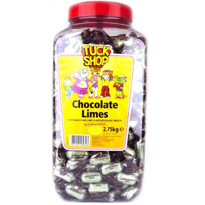 Tuck Shop Chocolate Limes Jar