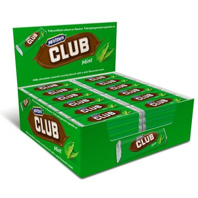 Mcvities Mint Club x 60