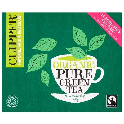 Clipper Organic Pure Green Tea 80 Bags