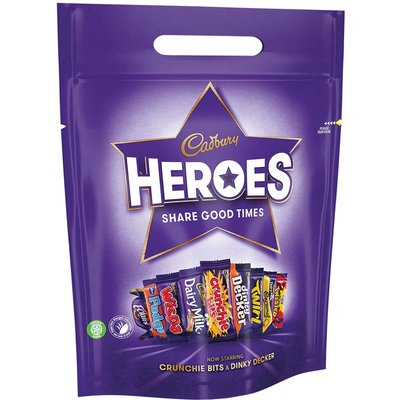 Cadbury Heroes Pouch (Box of 8)