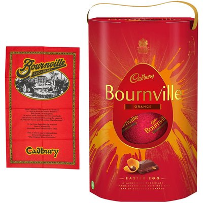 Bournville Easter Egg and Tea Towel