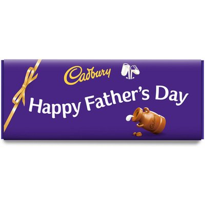 Happy Father's Day Dairy Milk Bar (850g)