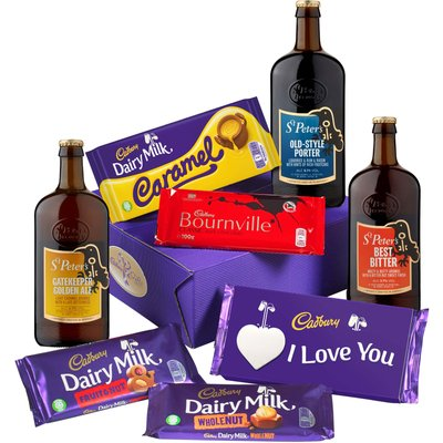 Cadbury Love Bars Beers Hamper