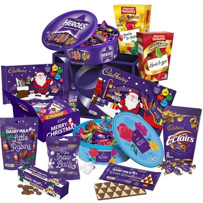 Cadbury Christmas Hamper - Large