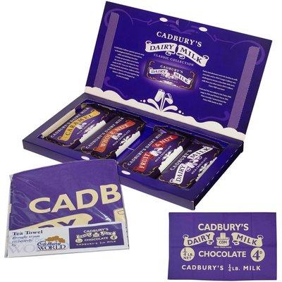 Cadbury Heritage Selection Box Tea Towel