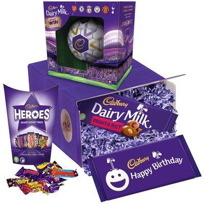 Cadbury Birthday Chocolate Football Gift