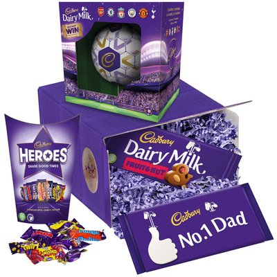 Cadbury Dad's Chocolate Football Gift