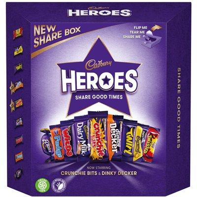 Cadbury Heroes Share Box (385g)