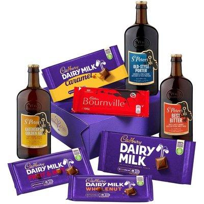 Cadbury Bars Beers Hamper