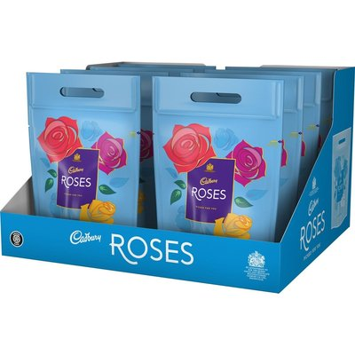 Cadbury Roses Gift Pouch (Box of 8)