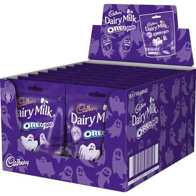 Cadbury Halloween Dairy Milk Oreooo Bag 82g (Box of 18)