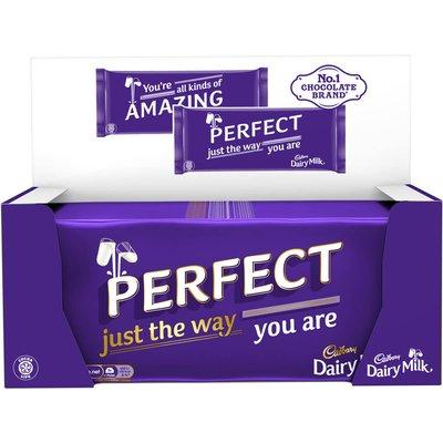 Cadbury Dairy Milk Message Bars (Box of 14)