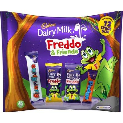 Cadbury Dairy Milk Freddo Friends Treatsize Bag 191g (Box of 16)