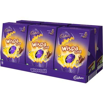 Cadbury Wispa Gold Easter Egg 248g (Box of 6)